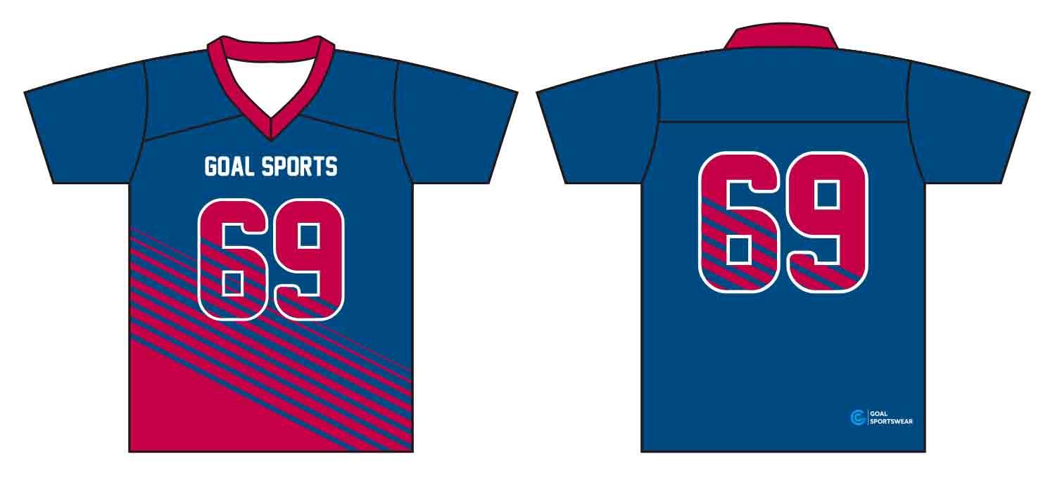 Pro quality sublimation printing custom design team custom lacrosse Shirts