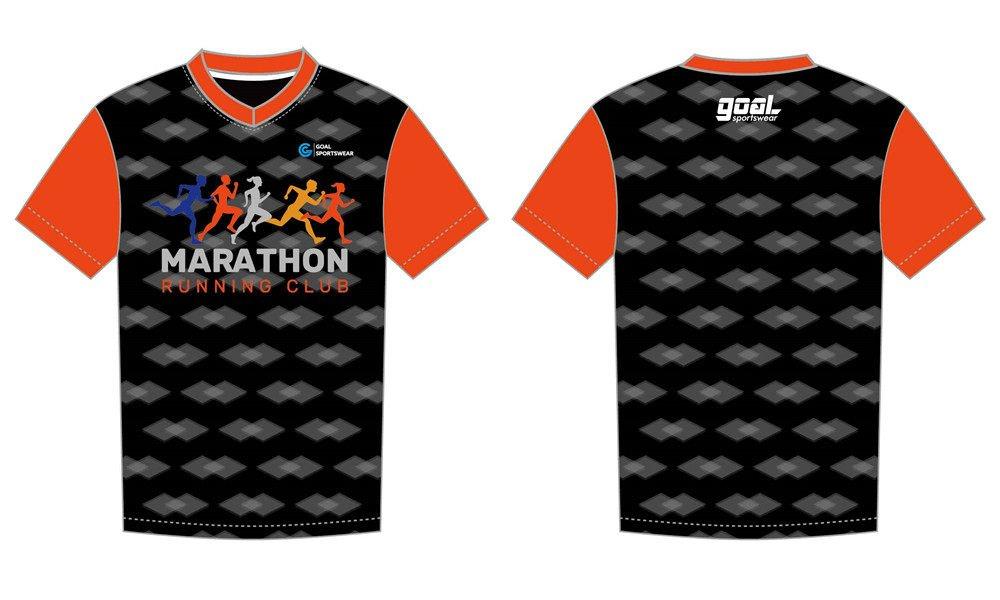 Pro quality sublimation printing custom design team sublimated running shirts