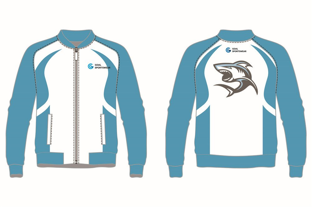 Sublimation high quality custom youth v neck Custom Baseball jackets