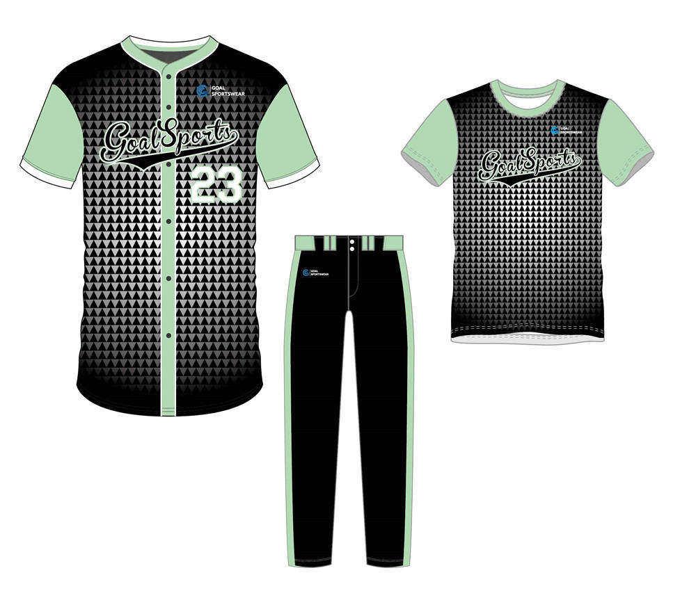 Sublimation printing 100% polyester dry fit custom Custom Fastpitch Softball Uniform