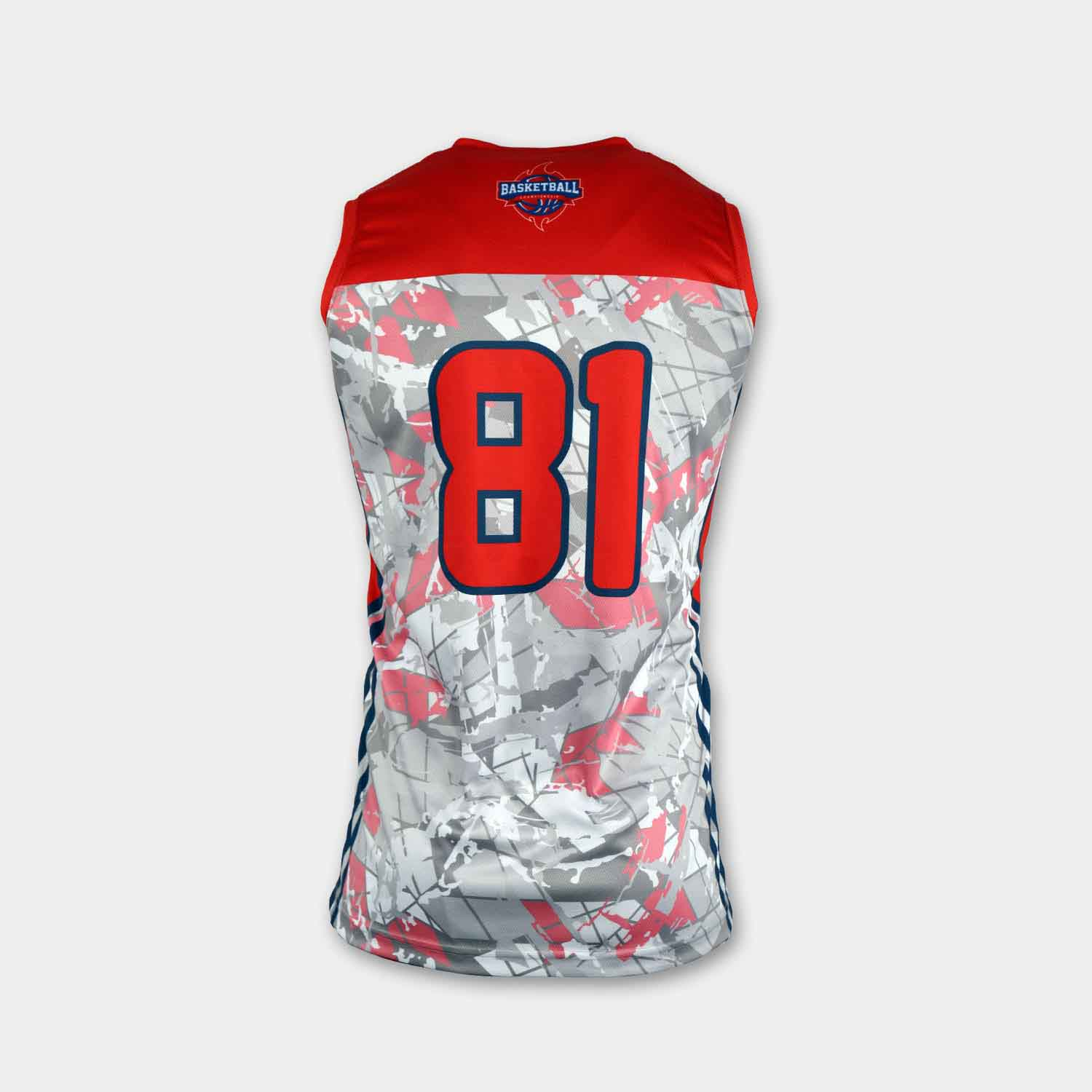 Sublimation printing 100% polyester dry fit custom reversible basketball jerseys