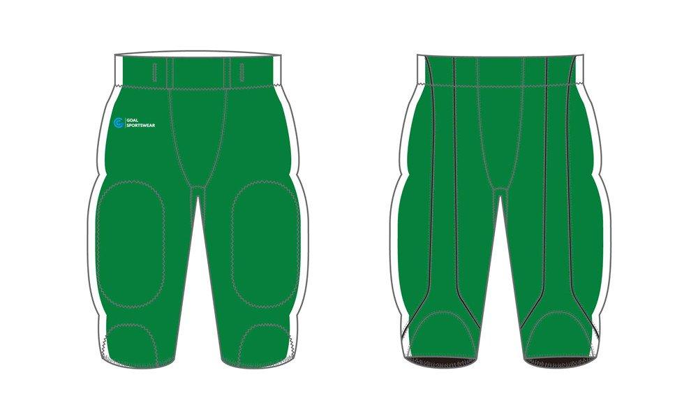 Wholesale high quality sublimation custom team Sublimated Football Pants