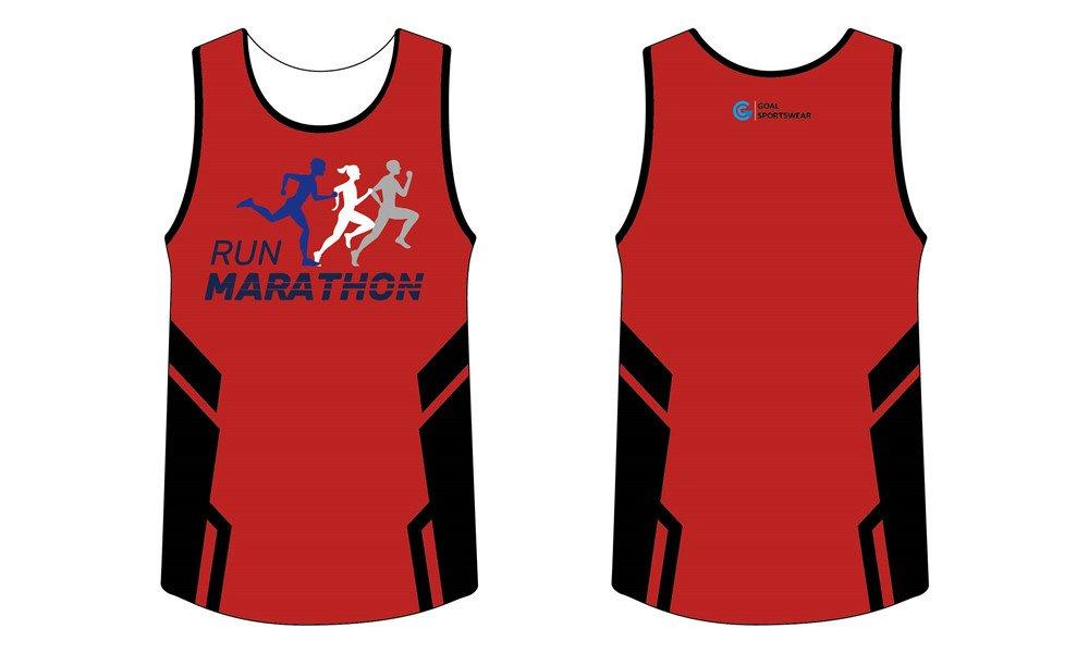 Wholesale high quality sublimation custom team sublimated running shirts