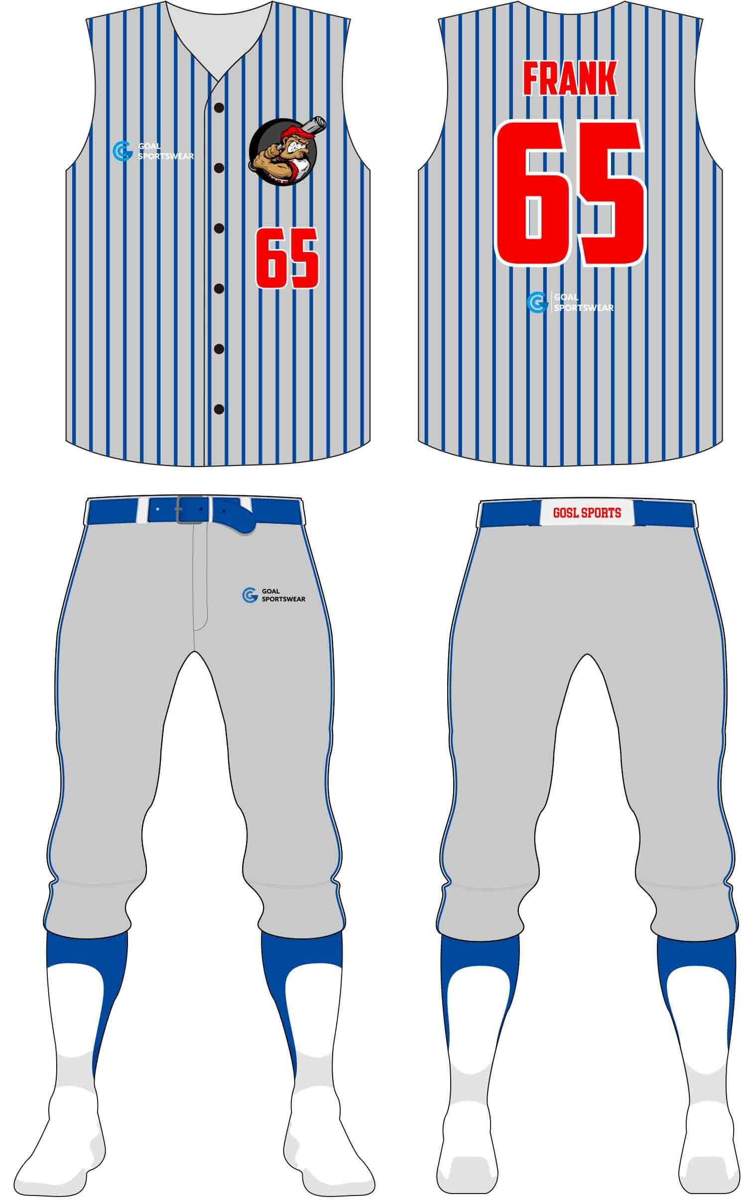 Wholesale high quality sublimation printing custom Custom Youth Softball Uniforms