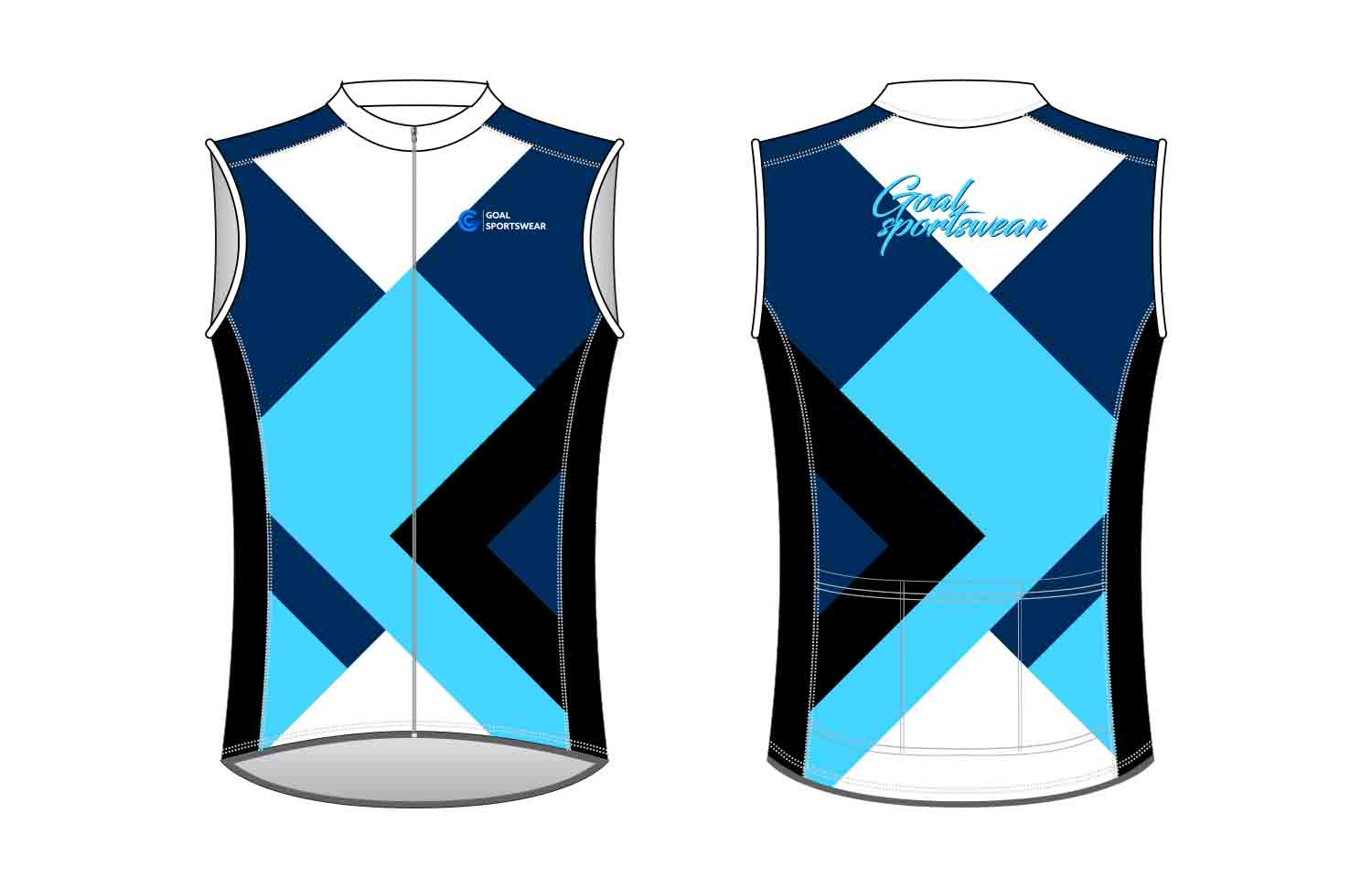 Wholesale high quality sublimation printing custom custom Cycling Vest