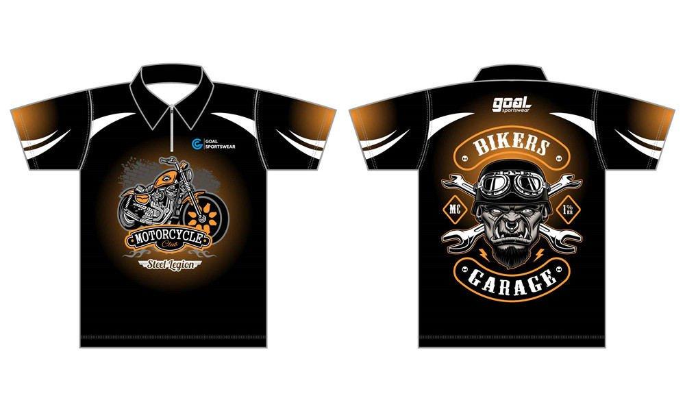 Wholesale high quality sublimation printing custom custom pit crew shirts