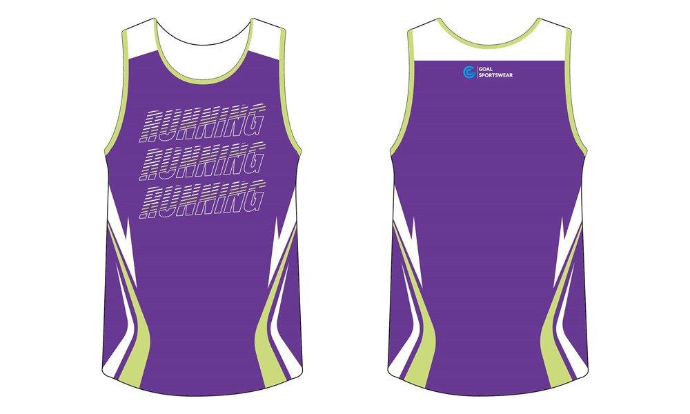 Wholesale high quality sublimation printing custom sublimated running shirts