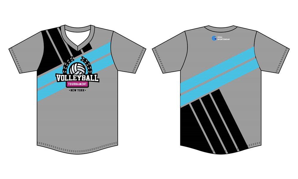 Wholesale high quality sublimation printing custom sublimated volleyball jerseys