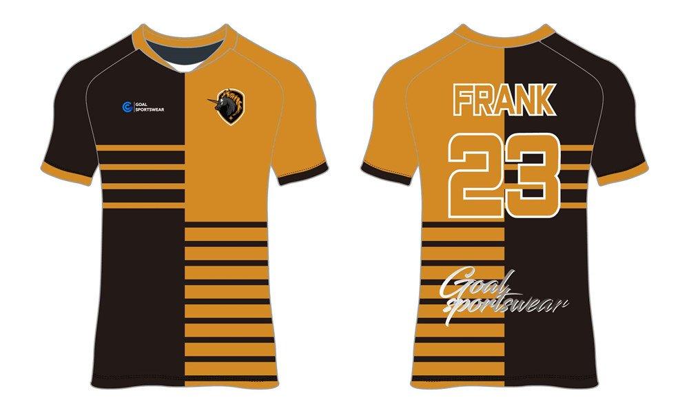 Wholesale pro quality custom design sublimated kids custom soccer tops