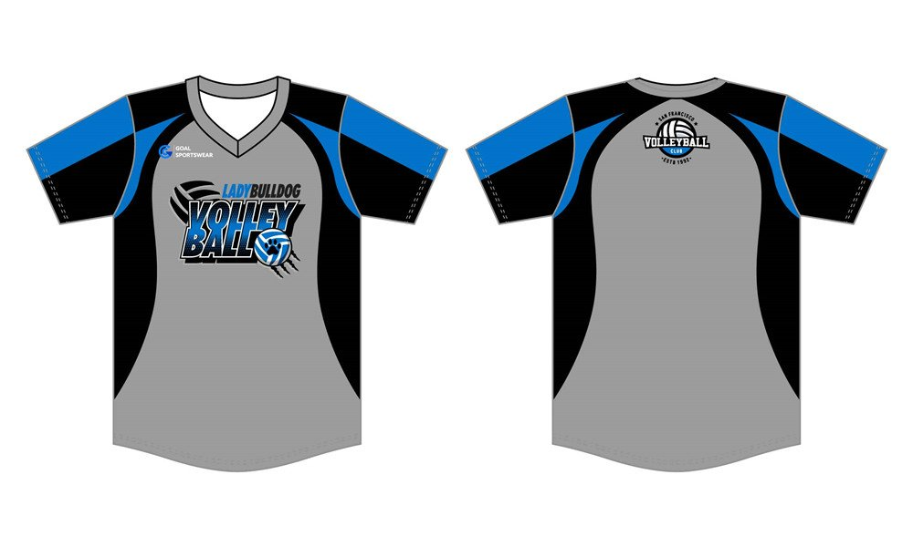 Wholesale pro quality custom design sublimated kids sublimated volleyball jerseys