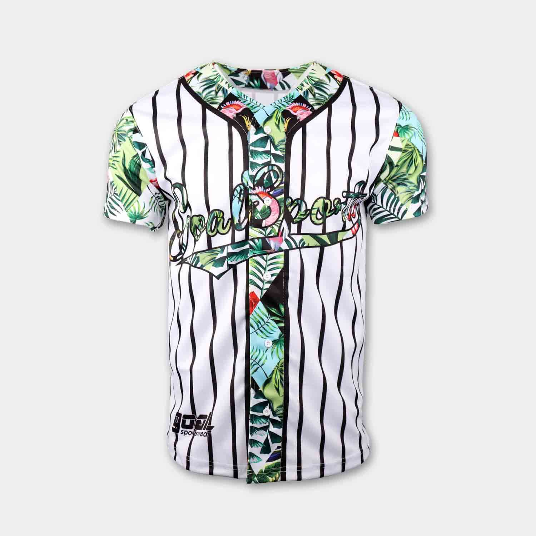 custom baseball shirts front