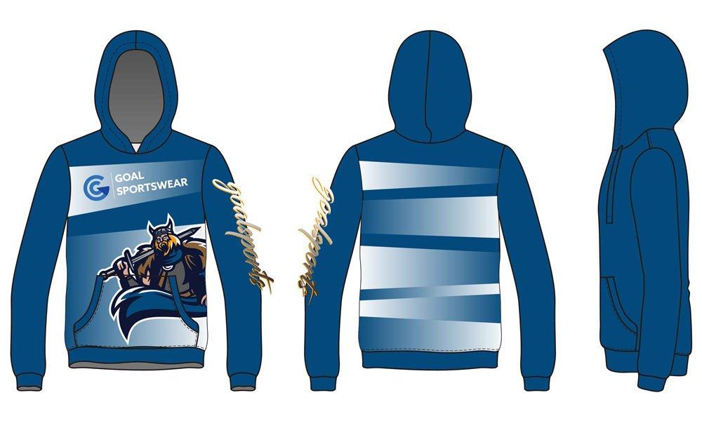 wholesale 100% polyester custom made sublimation custom Soccer Hoodies