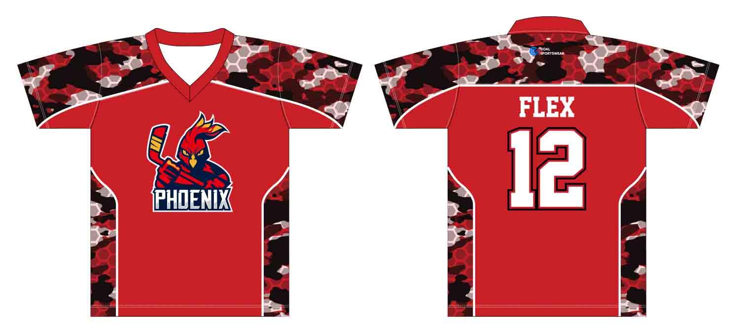 wholesale 100% polyester custom made sublimation custom lacrosse shirts