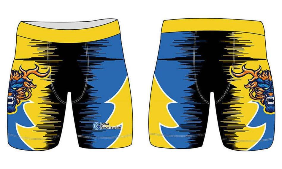 wholesale 100% polyester custom made sublimation custom spandex shorts