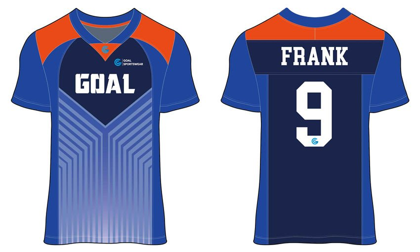 wholesale 100% polyester custom printed college Sublimated Flag Football Jerseys