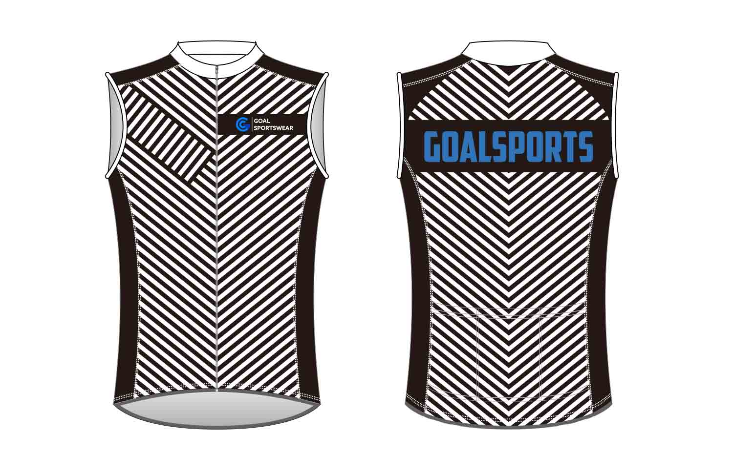 wholesale 100% polyester custom sublimated printed custom Cycling Vest