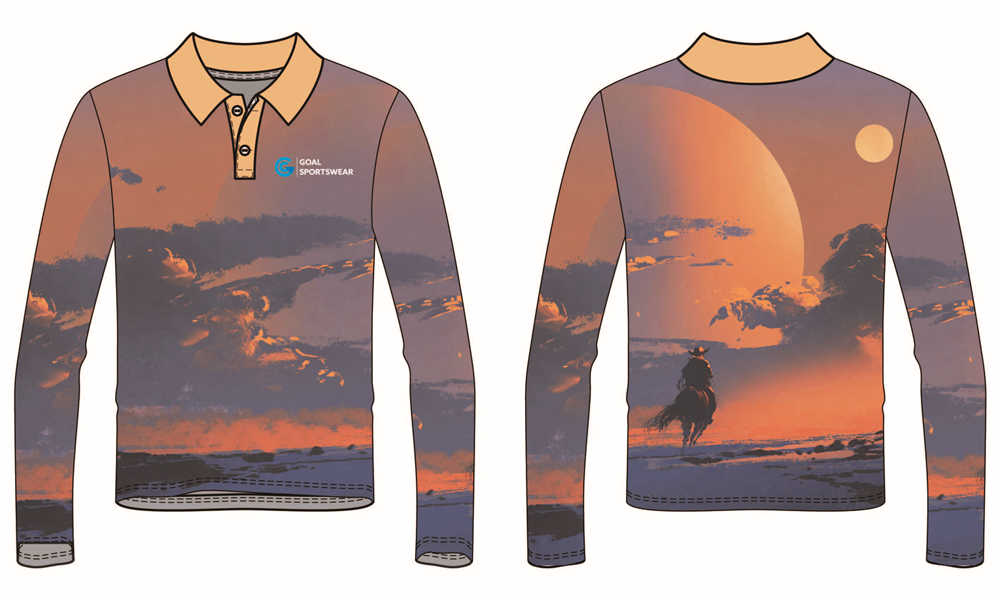 wholesale 100% polyester custom sublimated printed darts polo shirts