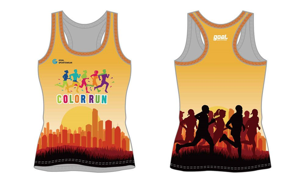 wholesale 100% polyester custom sublimated printed sublimated running shirts
