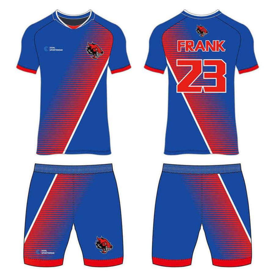 wholesale China custom design sublimation printing custom soccer kits