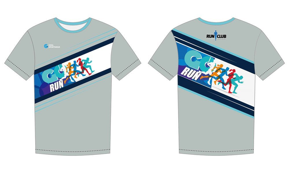 wholesale high qualtiy mens custom made sublimated running shirts