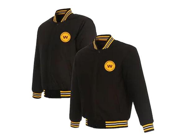 Football team full zipper jacket