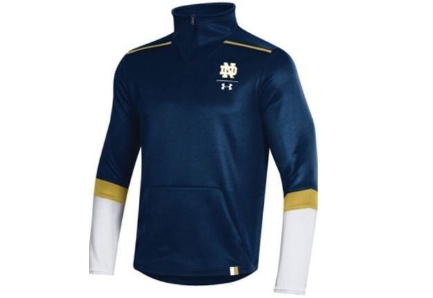 Football team 1 4 zipper jacket