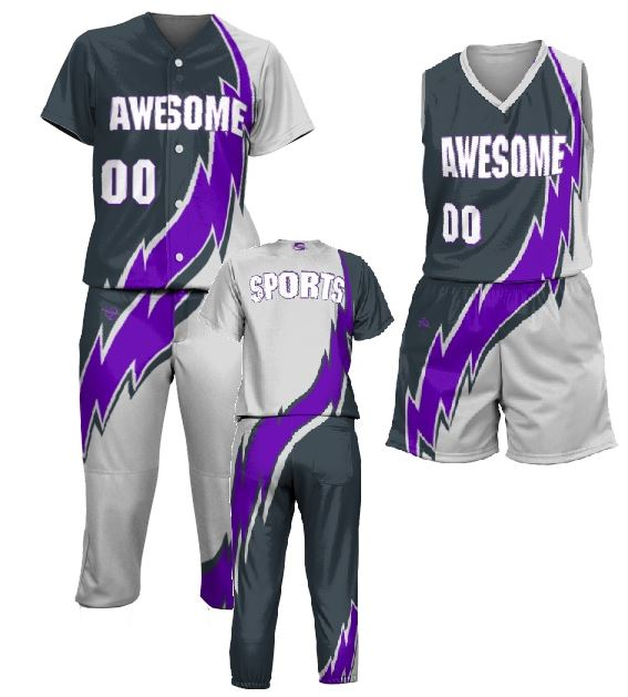 Custom youth softball uniform