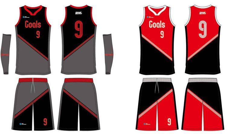 Youth basketball uniform