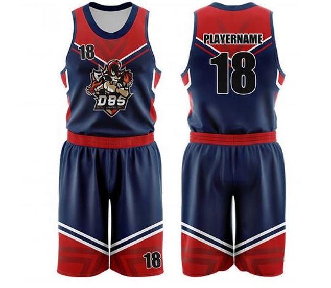 Custom youth basketball uniform
