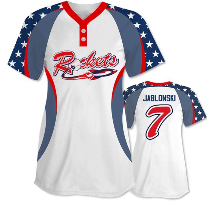 Custom men softball jersey