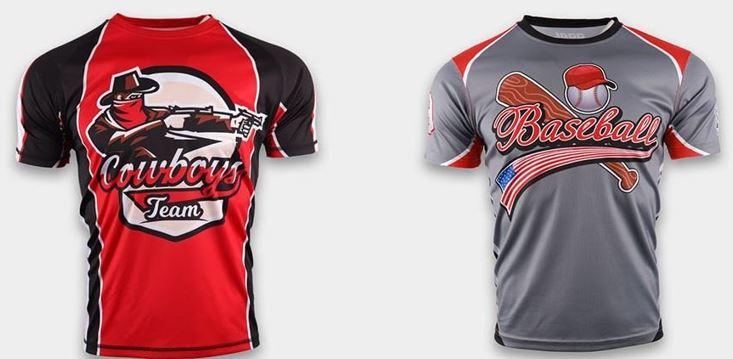 sublimated softball jerseys
