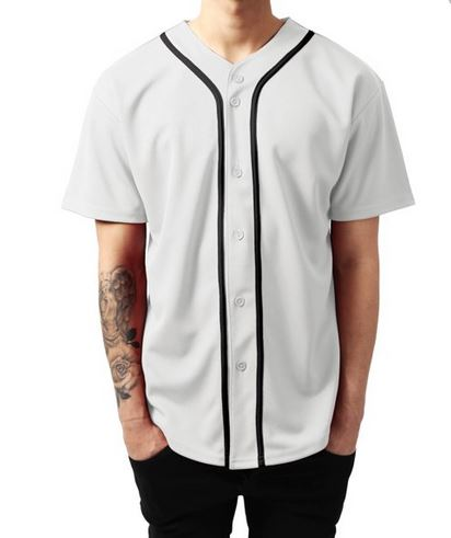 Custom button up baseball jerseys