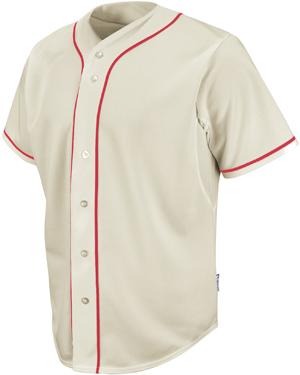 Blank MLB baseball jersey