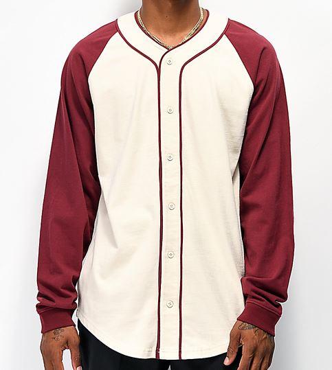 Custom long sleeve baseball shirt