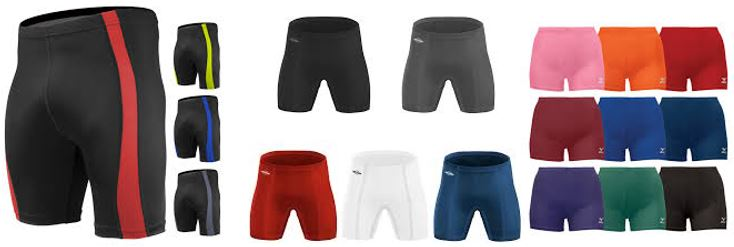 Spandex shorts colors