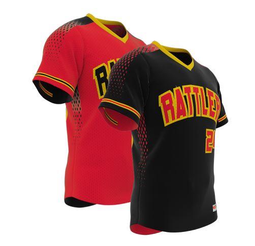 Reversible baseball jersey