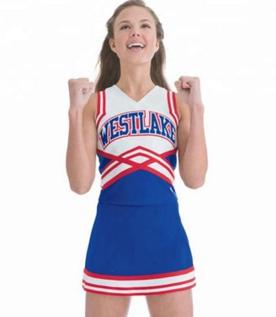 Youth cheerleading uniform