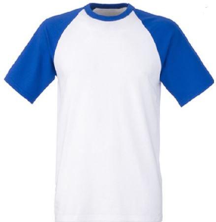 Short sleeve baseball tee