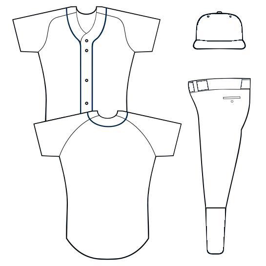 Softball jersey design template