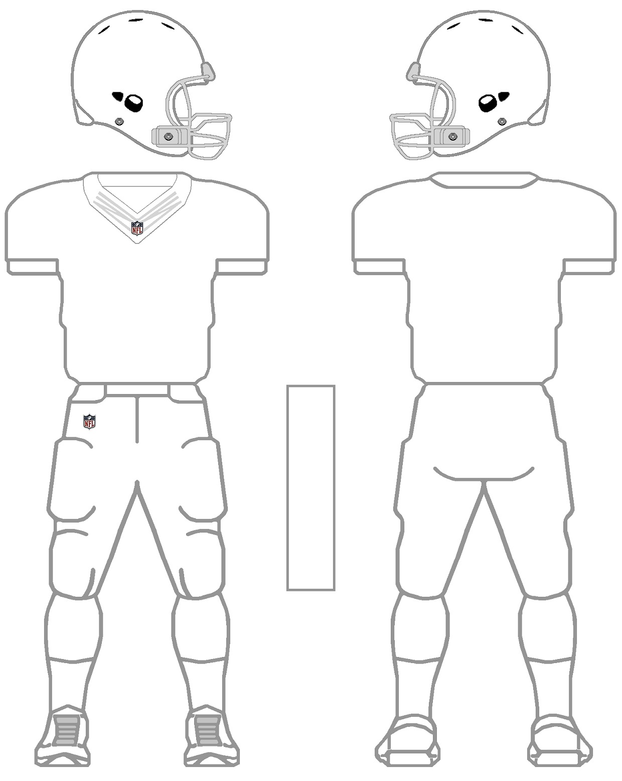 Footbal jersey design template