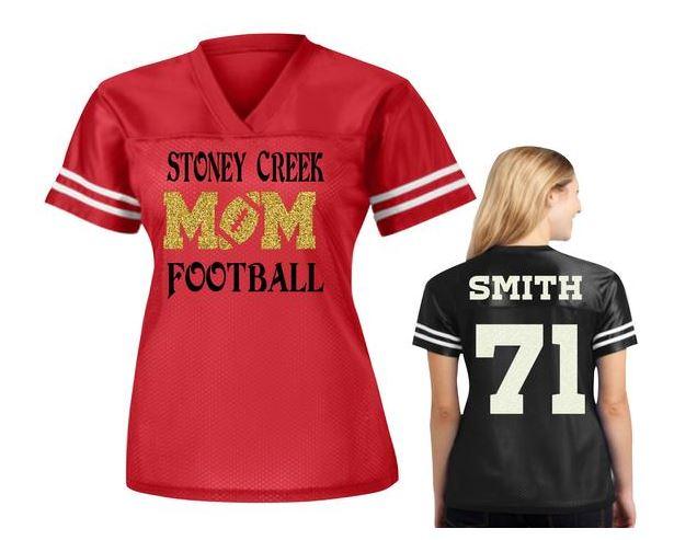 Football fan jersey