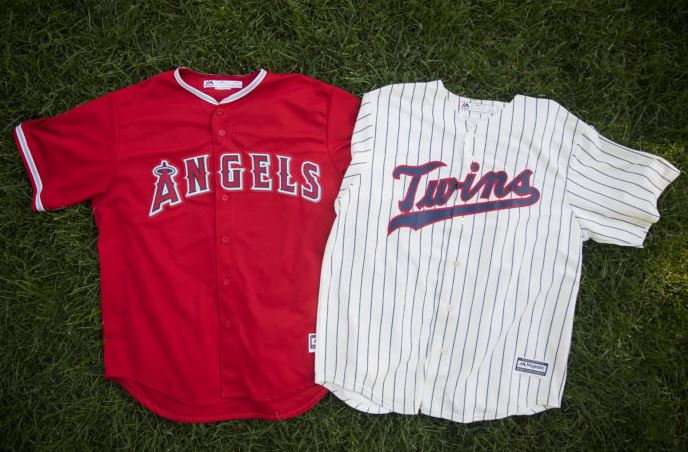 Authentic throwback baseball jersey