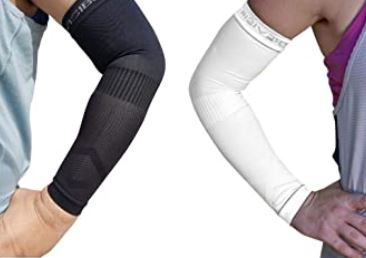 left and right arm baseball sleeves