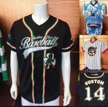 screen printed baseball uniform