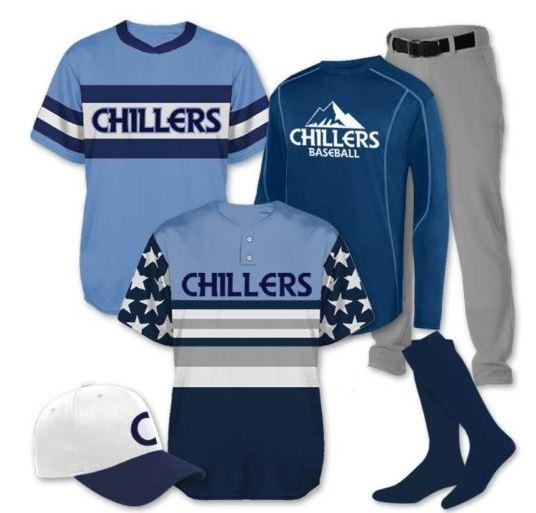 short and long sleeve baseball jerseys