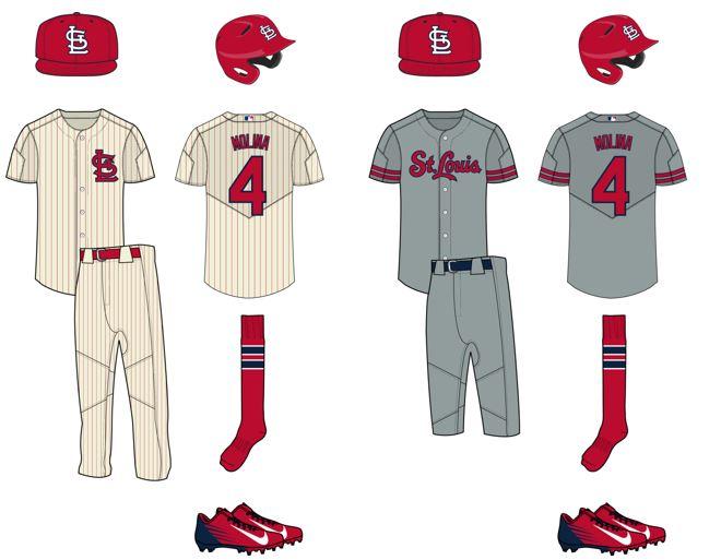 High school baseball uniform