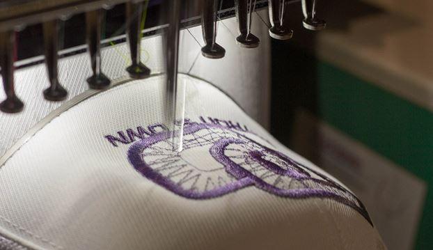 Custom embroidered uniform