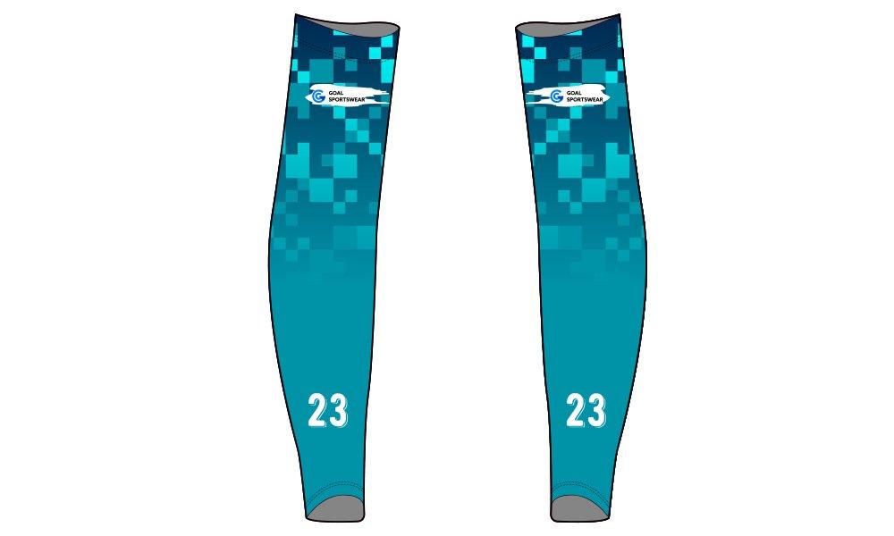 100% custom printing wholesale Sublimated custom baseball arm sleeves