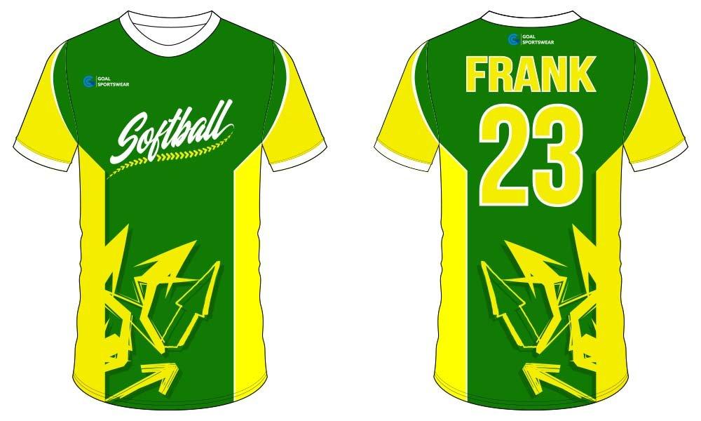 100% custom printing wholesale Sublimated softball jersey design
