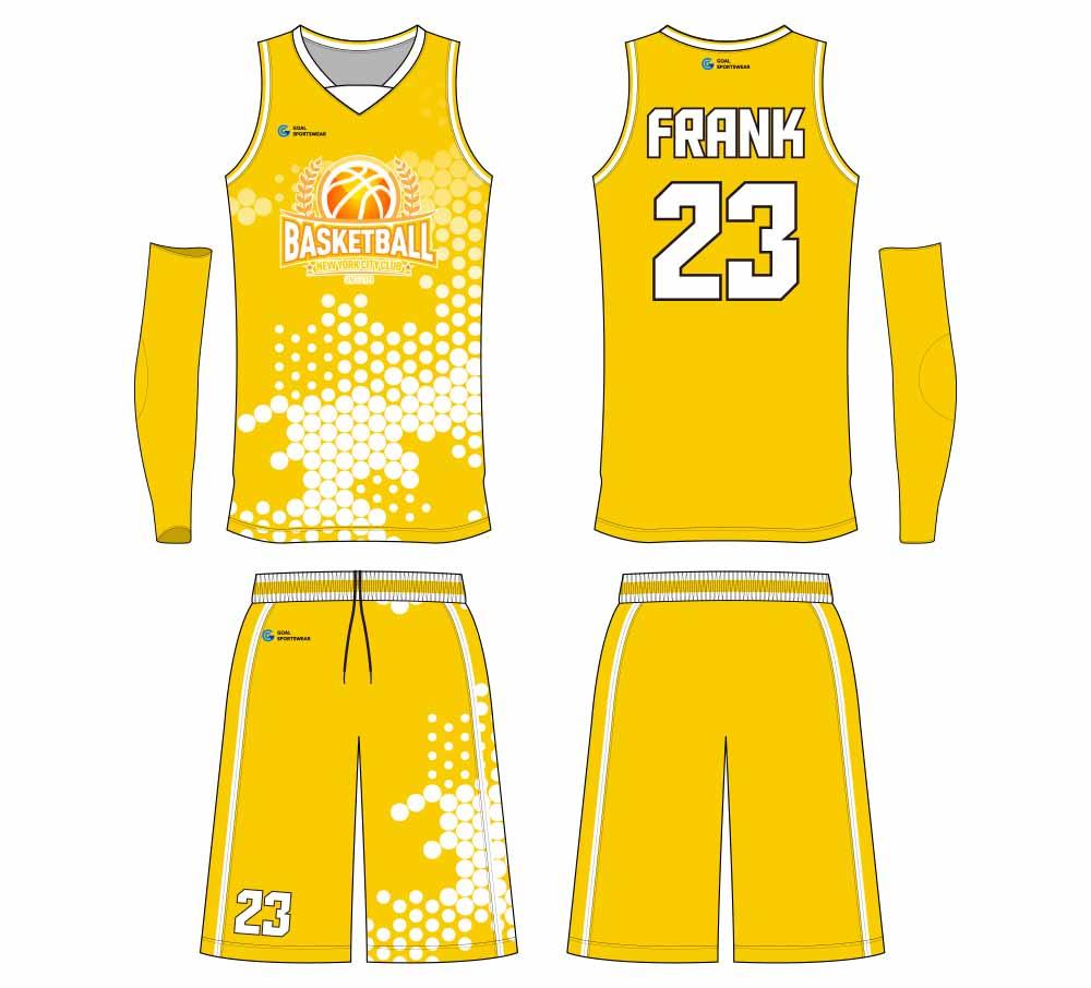 100% polyester custom youth team basketball jersey design